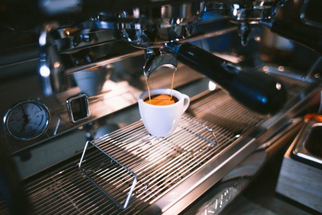 ристретто в кофемашине